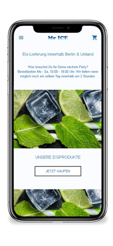 MR.ICE App von BST Media Solutions
